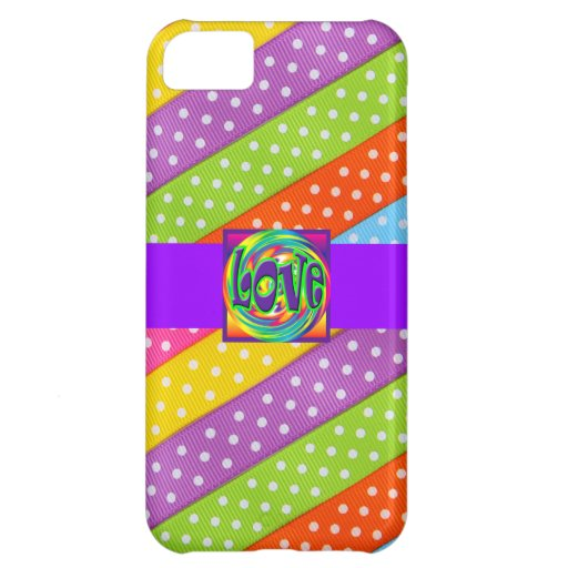 Liebe-Entwurfs-Muster-niedliche Girly Save the Dat iPhone 5C Hülle