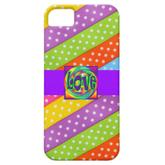 Liebe-Entwurfs-Muster-niedliche Girly Save the Dat iPhone 5 Etui