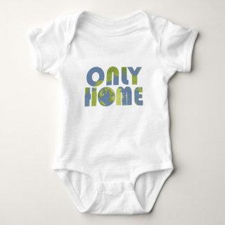 Liebe-Erdnur Zuhause-Baby-Shirt Baby Strampler