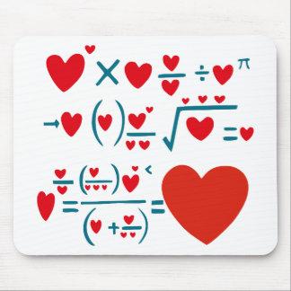 Liebe-Formel Mauspads
