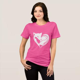 Liebe Foxes Kleidung T-Shirt