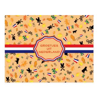 Liebe für Holland Postkarte