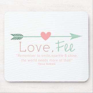 Liebe-Gebühr Mauspads