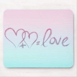 Liebe-Gleichung Mousepads