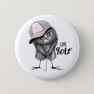 Liebe-Golf Runder Button 5,1 Cm