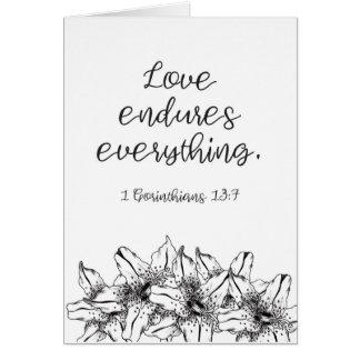 Liebe hält alles aus karte