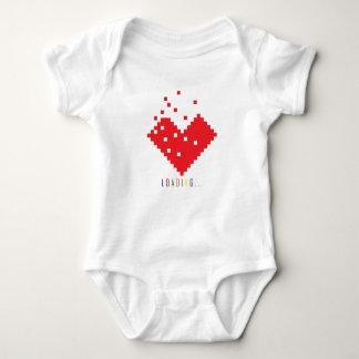 Liebe-Herz-Laden Baby Strampler