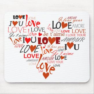 Liebe-Herz Mousepad