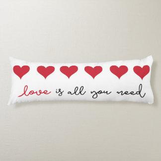 Liebe-Herz-Mitteilungs-Kissen Seitenschläferkissen