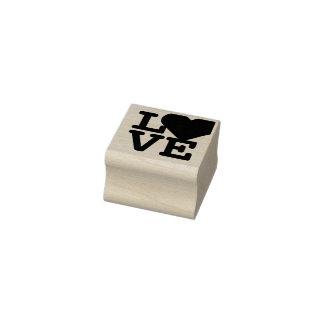 Liebe-Herz-Valentinstagklassisches Gummistempel