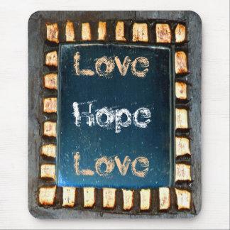Liebe-Hoffnungs-Liebe Mauspad