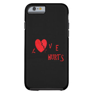 Liebe Hurts Tough iPhone 6 Hülle
