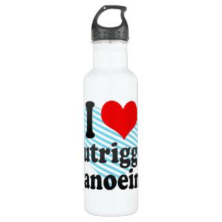Liebe I Ausleger Canoeing Edelstahlflasche