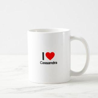 Liebe I cassandra Kaffeetasse