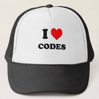 Liebe I Codes Truckerkappe