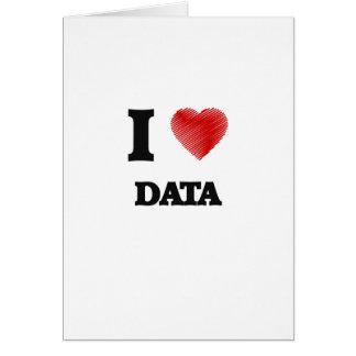 Liebe I Daten Karte