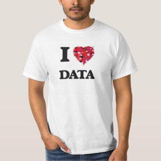 Liebe I Daten T-Shirt