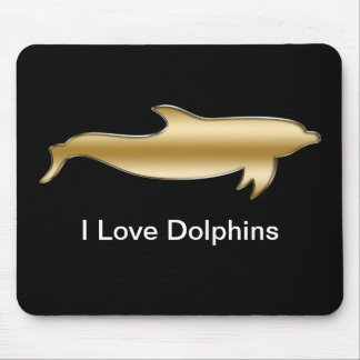 Liebe I Delphine Mousepad