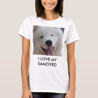 Liebe I der Frauen mein Samoyed T - Shirt