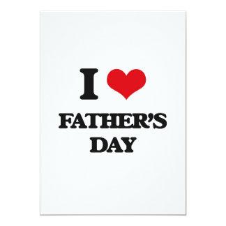 Liebe I der Vatertag 12,7 X 17,8 Cm Einladungskarte