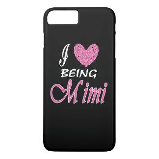Liebe I, die MiMi ist iPhone 8 Plus/7 Plus Hülle