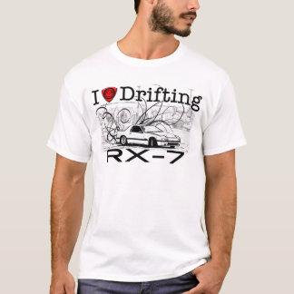 Liebe I, die RX-7 treibt T-Shirt