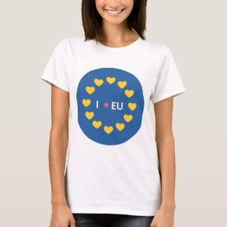 Liebe I EU-T-Shirt - bleiben Wähler im Referendum T-Shirt
