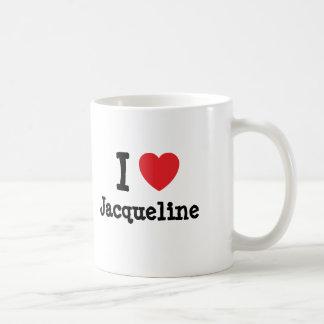 Liebe I Jacqueline-Herz T - Shirt Kaffeetasse