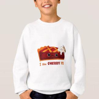 Liebe I Kirschtorte Sweatshirt