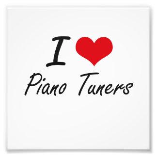 Liebe I Klavier-Tuners Photographischer Druck