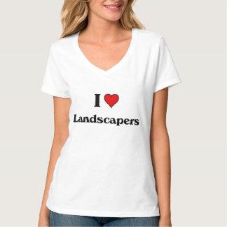 Liebe I Landschaftsgestalter T-Shirt