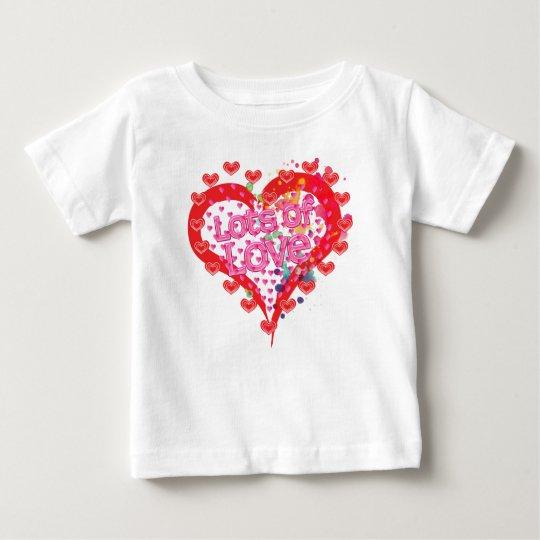 Liebe, i-Liebe Sie, Lose Liebe, Familie Baby T-shirt