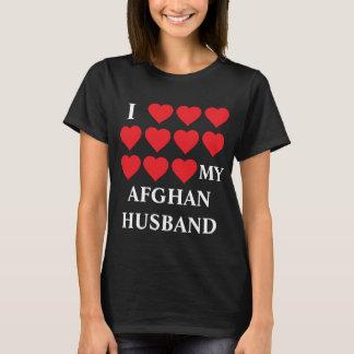 Liebe I mein afghanischer Ehemann T-Shirt