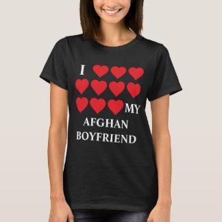 Liebe I mein afghanischer Freund T-Shirt
