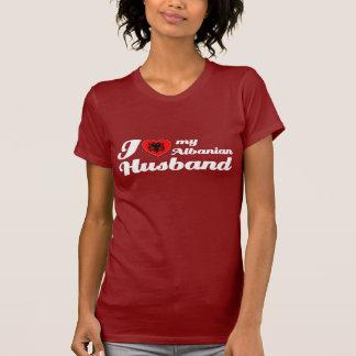 Liebe I mein albanischer Ehemann T-Shirt
