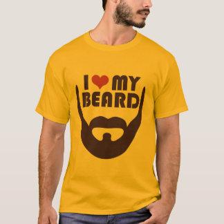 Liebe I mein Bart T-Shirt