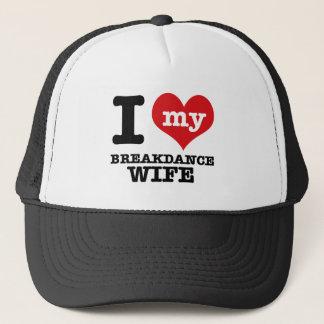 Liebe I mein breakdance Freund Truckerkappe
