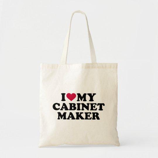 Liebe I mein Cabinetmaker Budget Stoffbeutel