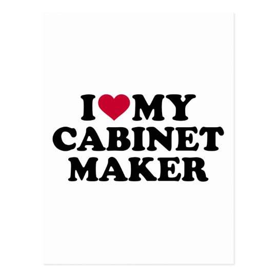 Liebe I mein Cabinetmaker Postkarte