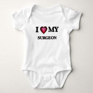 Liebe I mein Chirurg Baby Strampler