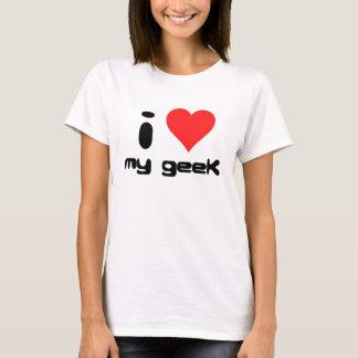 Liebe I mein Geek T-Shirt