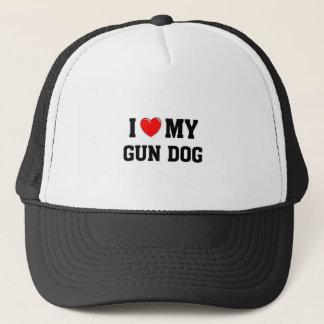 Liebe I mein Gewehr-Hund Truckerkappe