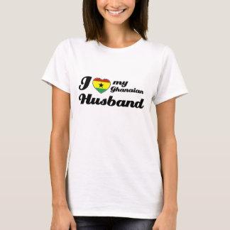Liebe I mein ghanaischer Ehemann T-Shirt