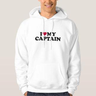 Liebe I mein Kapitän Hoodie