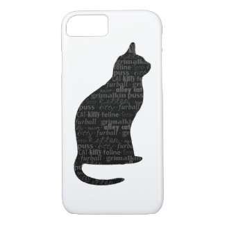 Liebe I mein Katzentelefonkasten iPhone 8/7 Hülle