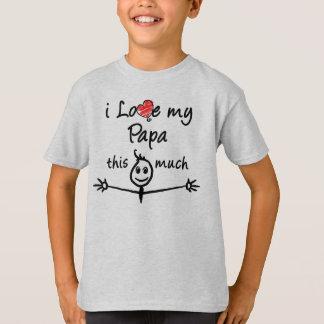 Liebe I mein Papa! T-Shirt
