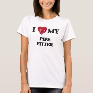 Liebe I mein Rohr-Monteur T-Shirt