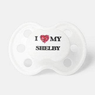 Liebe I mein Shelby Baby Schnuller