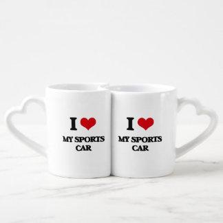 Liebe I mein Sport-Auto Paartasse