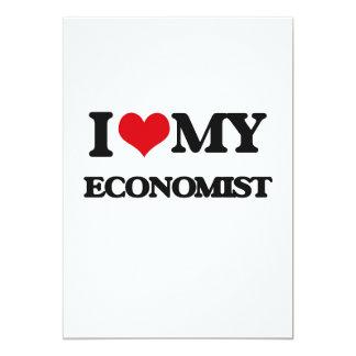 Liebe I mein Wirtschaftswissenschaftler 12,7 X 17,8 Cm Einladungskarte